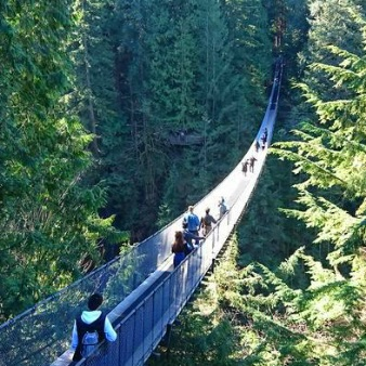 Vancouver Tour Including Capilano Suspension Bridge